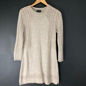 Topshop Sweater Dress Tunic Knit Lightweight